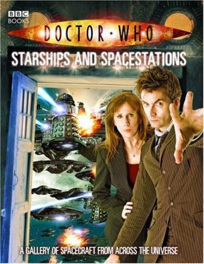 Doctor Who Books - Doctor Who: Starships And Spacestations