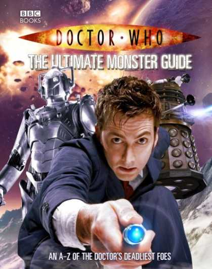 Doctor Who Books - Doctor Who: The Ultimate Monster Guide