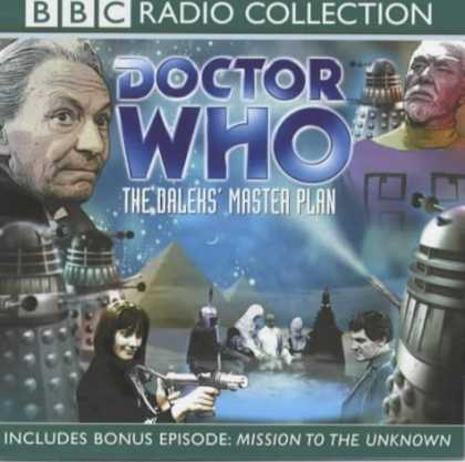 Doctor Who Books - Doctor Who: The Daleks' Master Plan (BBC Radio Collection)