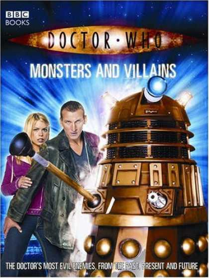 Doctor Who Books - Doctor Who: Monsters And Villains