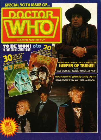 Doctor Who Magazine 50