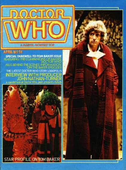 Doctor Who Magazine 51