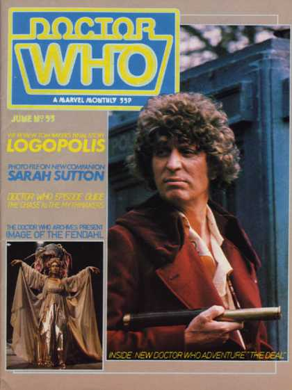 Doctor Who Magazine 53