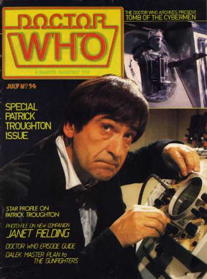 Doctor Who Magazine 54