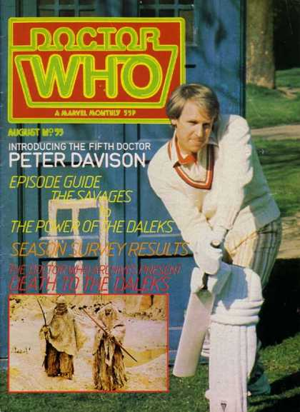 Doctor Who Magazine 55