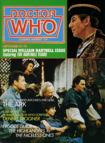 Doctor Who Magazine 56