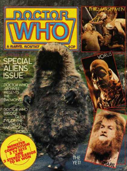 Doctor Who Magazine 57