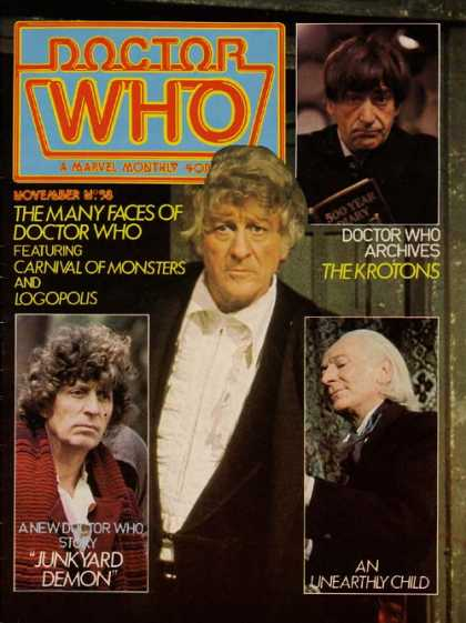 Doctor Who Magazine 58