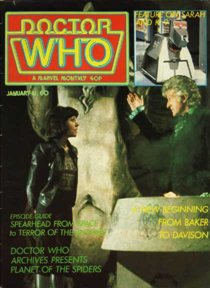 Doctor Who Magazine 60