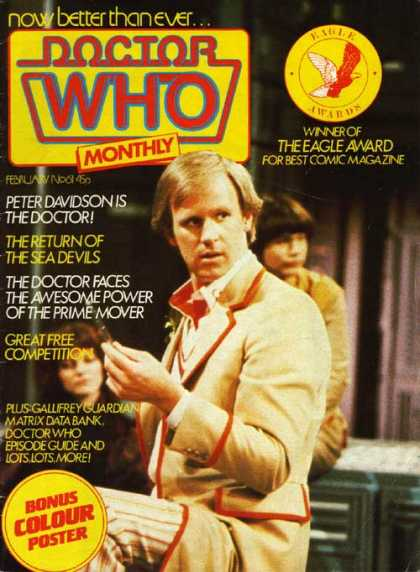 Doctor Who Magazine 61