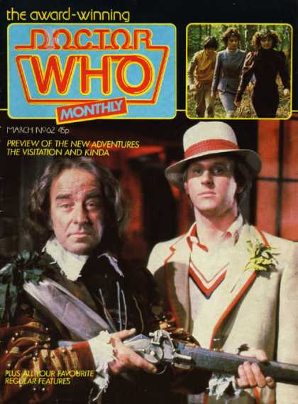Doctor Who Magazine 62
