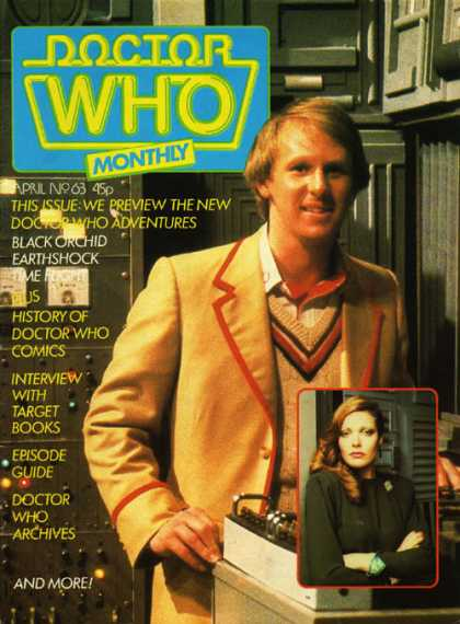 Doctor Who Magazine 63