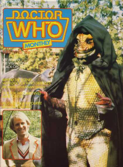 Doctor Who Magazine 65