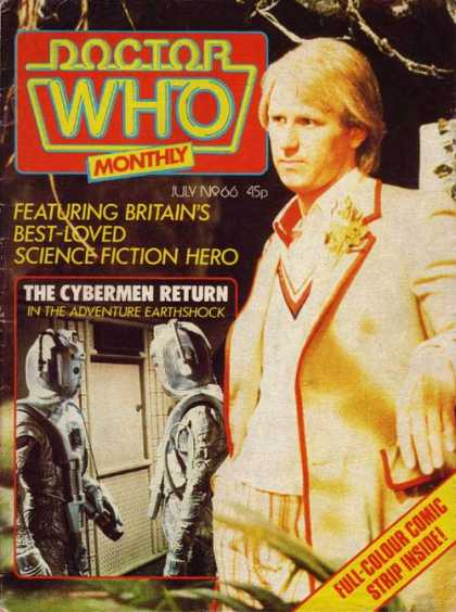 Doctor Who Magazine 66