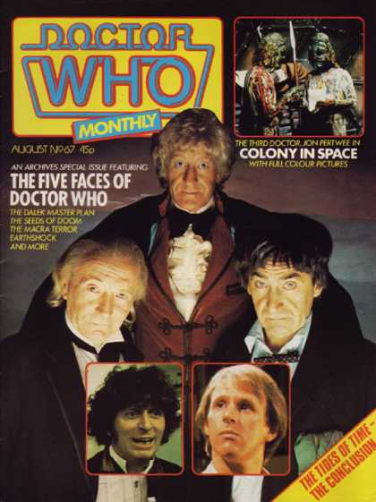 Doctor Who Magazine 67