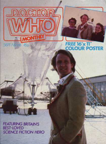 Doctor Who Magazine 68