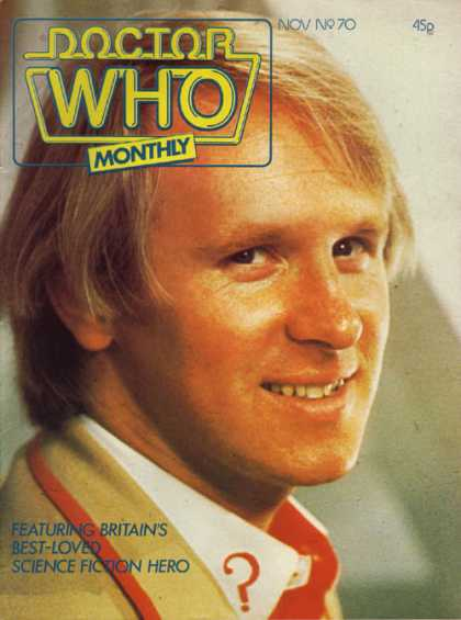 Doctor Who Magazine 70