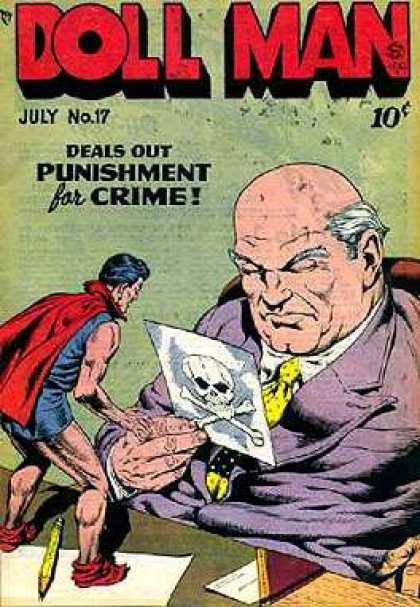 Doll Man Quarterly 17 - Doll Man - Doll Man Punishes - Big Boss - Doll Man Deals Out - Crime