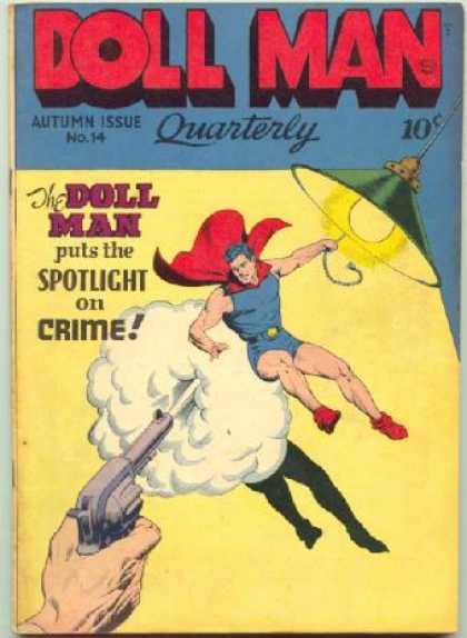 Doll Man 14 - Gun - Lamp - Quarterly - Autumn Issue - Crime