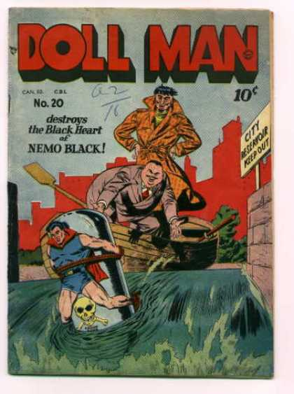 Doll Man 20 - Criminals - Convicts - Escape - Superbad - Gone Wrong