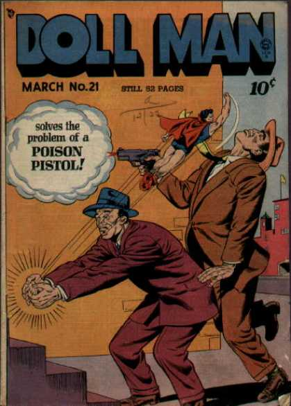 Doll Man 21 - Poison Pistol - March - 52 Pages - Punch - Solves The Problem