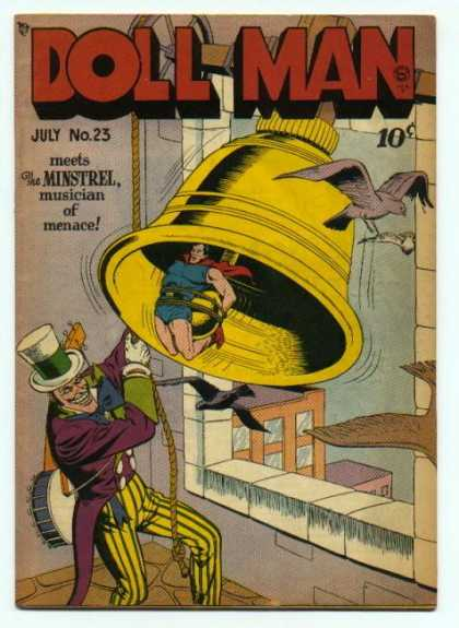 Doll Man 23 - July - Bell - Bird - Minstrel - Rope