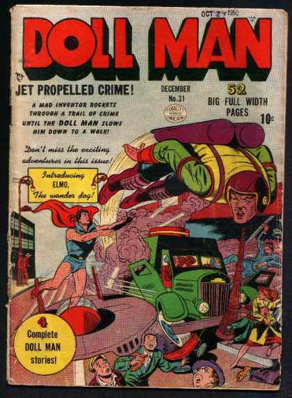 Doll Man 31 - Jet - Propelled - Crime - Man - Doll