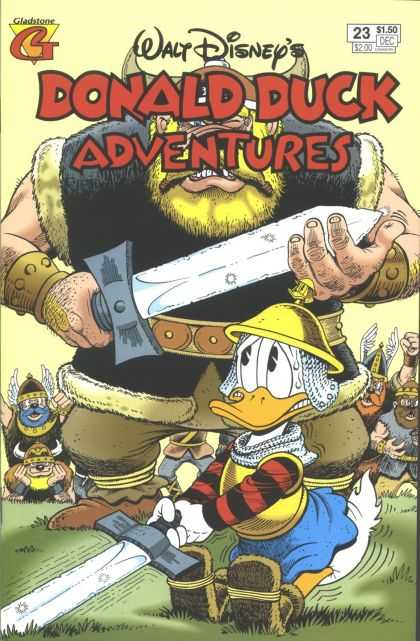Donald Duck Adventures 23 - Gladstone - Disney - 23 - Sword - Danger