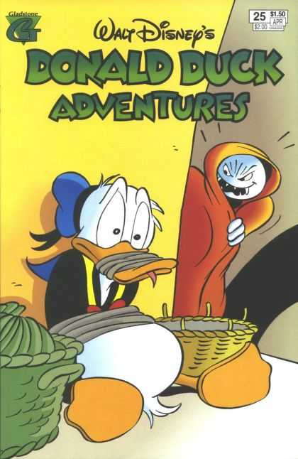 Donald Duck Adventures 25 - Walt Disney - Gladstone Comics - Basket - Rope - Blue Sailor Hat