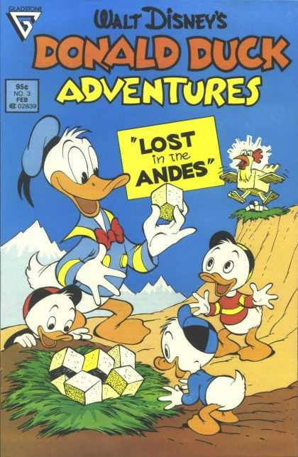Donald Duck Adventures 3 - Walt Disneys - Eladsione - Lost In The Andes - Donald Duck - Chicken