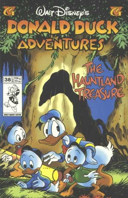 Donald Duck Adventures 38 - Woods - Ducks - Tree - Haunted - Treasure