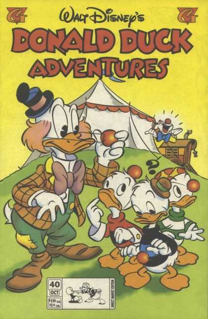 Donald Duck Adventures 40 - Disney - Circus Tent - Huey - Duey - Louie