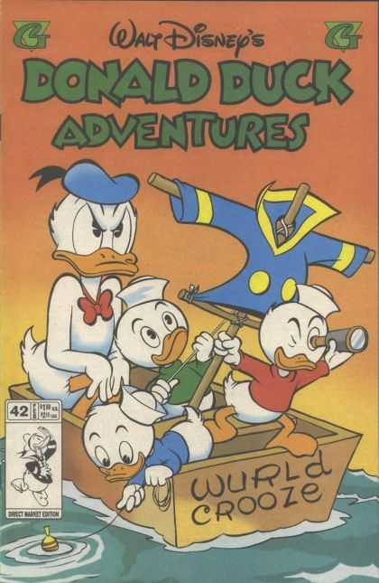 Donald Duck Adventures 42 - Wurld Crooze - Boat - Donald Duck - 42 - Donald Upset