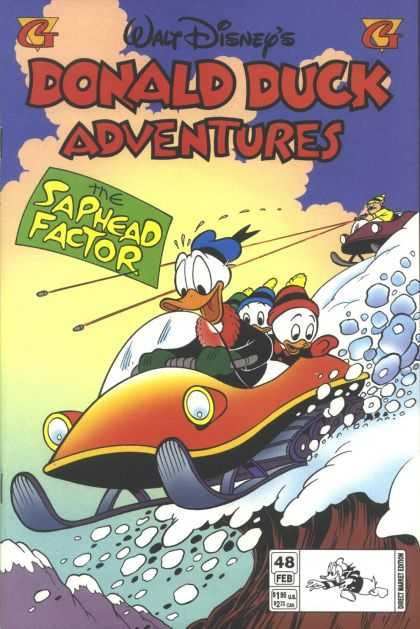 Donald Duck Adventures 48 - The Saphead Factor - Snowmobiles - Snowballs - Bullets - Mountain