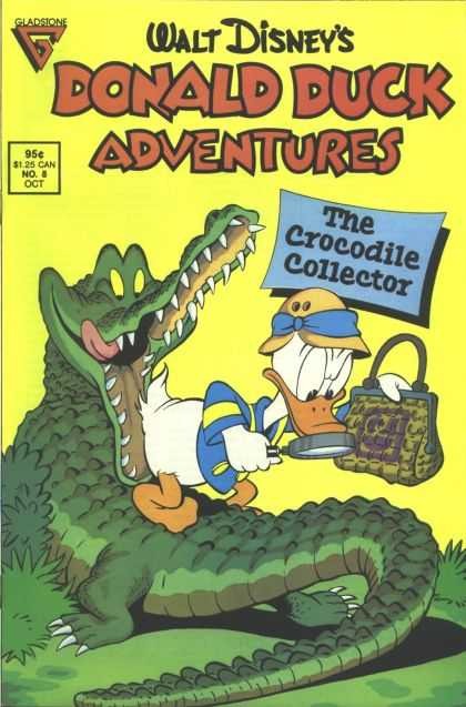 Donald Duck Adventures 8 - Gladsione - Walt - Disneys - The Crocodile Collector - Oct