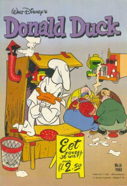 Donald Duck (Dutch) - 11, 1983