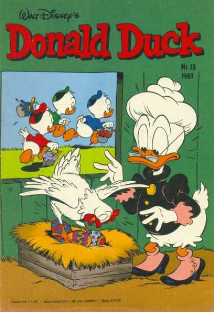 Donald Duck (Dutch) - 13, 1983