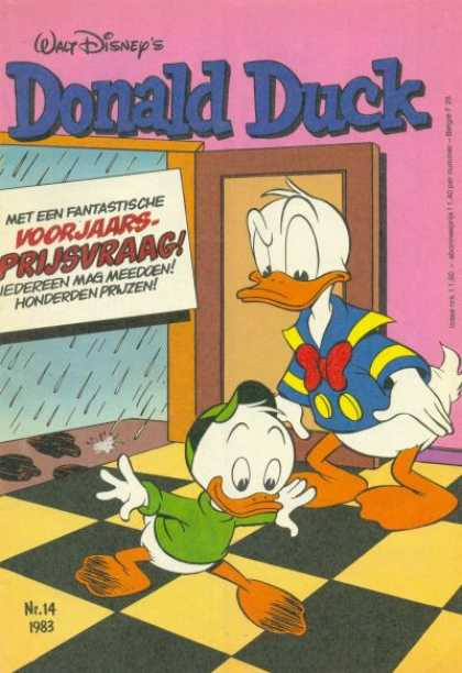 Donald Duck (Dutch) - 14, 1983