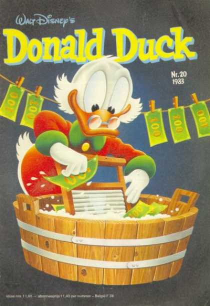 Donald Duck (Dutch) - 20, 1983