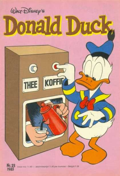 Donald Duck (Dutch) - 23, 1983