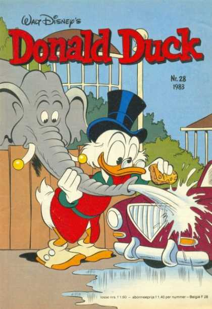 Donald Duck (Dutch) - 28, 1983