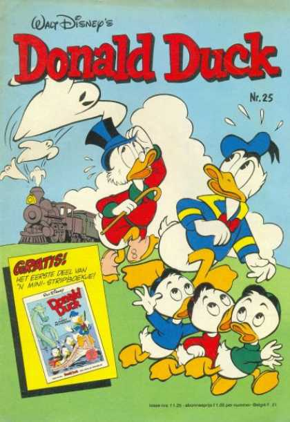 Donald Duck (Dutch) - 25, 1980