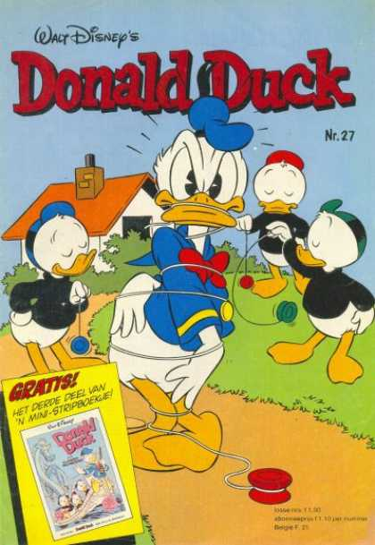 Donald Duck (Dutch) - 27, 1980