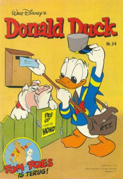Donald Duck (Dutch) - 34, 1980
