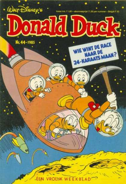 Donald Duck (Dutch) - 44, 1985