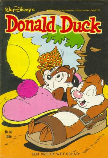 Donald Duck (Dutch) - 10, 1986