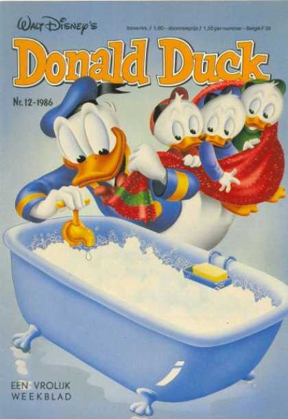 Donald Duck (Dutch) - 12, 1986
