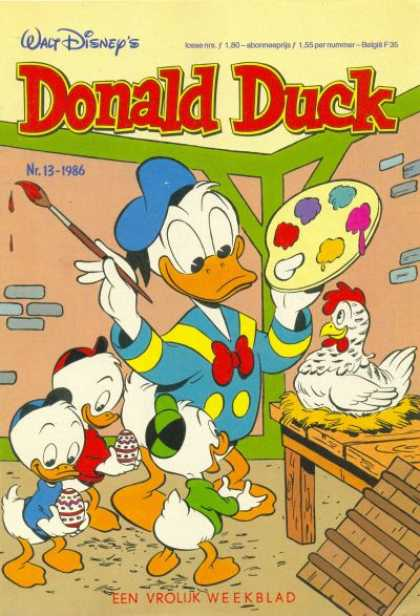 Donald Duck (Dutch) - 13, 1986