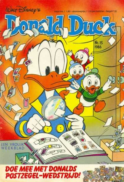 Donald Duck (Dutch) - 15, 1986