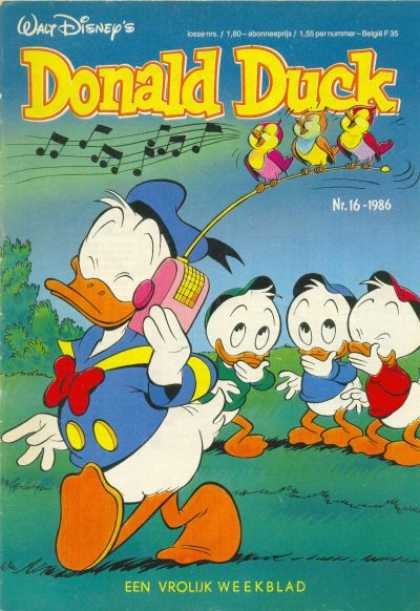 Donald Duck (Dutch) - 16, 1986